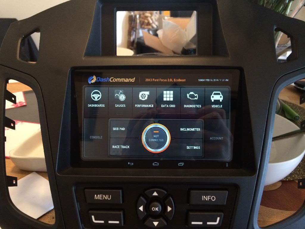 araç tablet uygulaması - mk3- ses & görüntü sistemleri - focus